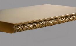 Bistro Collection Saratoga Artisan Cast Edge Profile in Brass