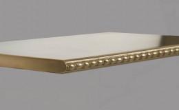 St. John's Artisan Cast Edge Profile in Brass