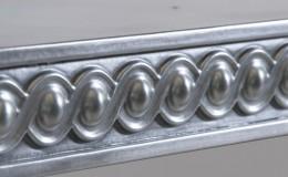 Artisan Cast Zinc Dorset Edge Profile Closeup