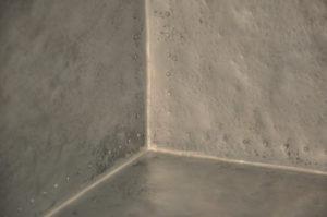 hand hammered zinc, textured metals, hammered metal countertop, matte hammered zinc backsplash