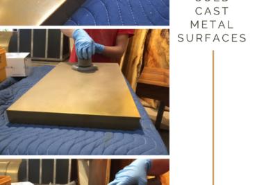 Repairing Cold Cast Countertops